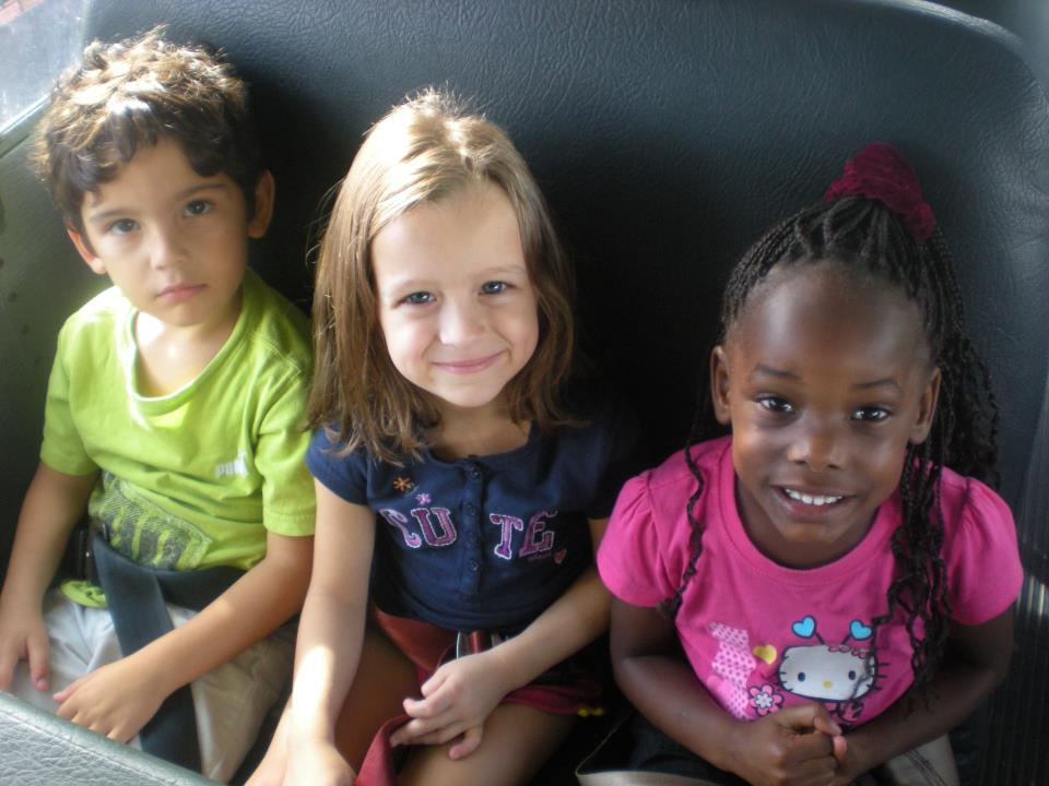 Smiling children at a Preschool & Daycare Serving Palm Springs, Lake Worth, West Palm Beach, FL
